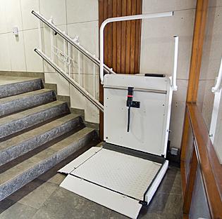 Plataforma salvaescalera
